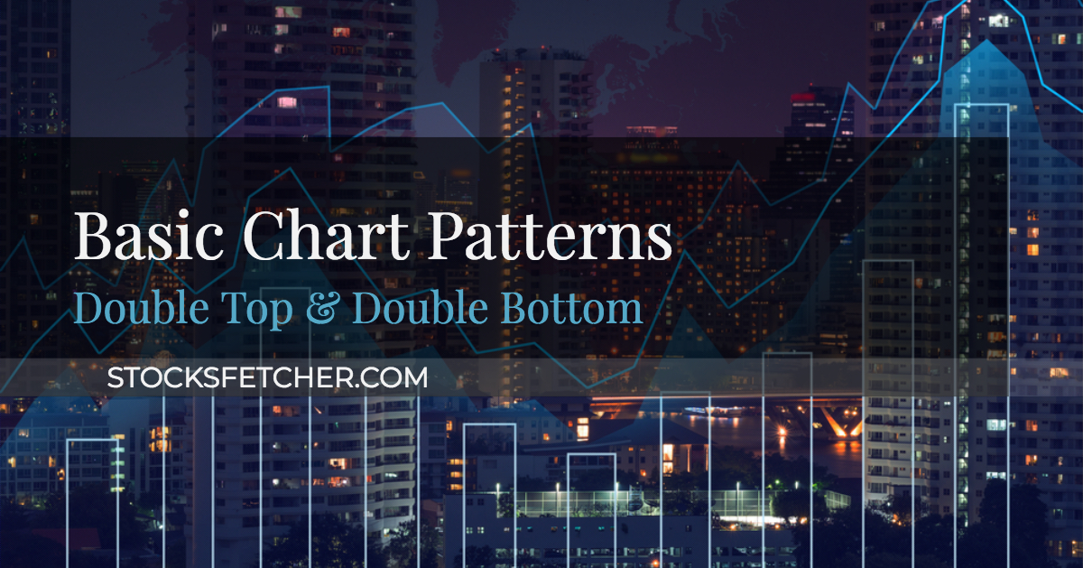 Basic Chart Patterns - Double Top & Double Bottom