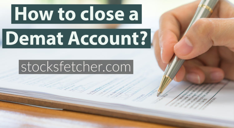 how to close a demat account