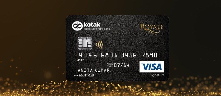 Kotak Royale Signature Credit Card Review