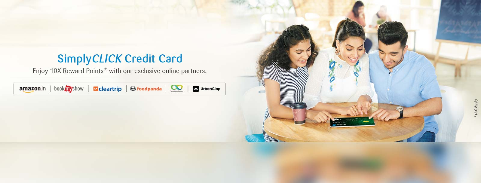 SimplyCLICK SBI Credit CardReview