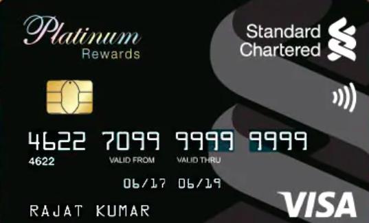 Standard Chartered Platinum Rewards Card Review