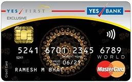 YES FIRST Preferred Credit Card